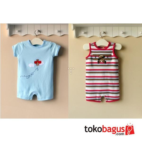 Baju Kodok Jumpsuit Bayi Mom And Bab 2 In 1